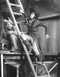 Production photograph of Abraham Goldfaden's The Sorceress, directed by Alexis Granovsky (Huntly Carter Collection, SCRSS Photo Library)
